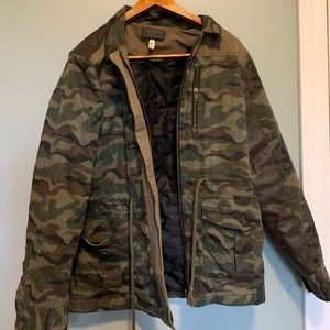 3 for 30 Gentle Fawn green camo army jacket